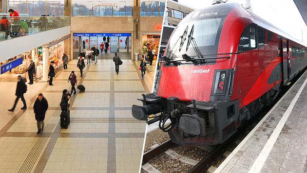 Westbahnhof als Terror-Ziel: Islamist (14) in Haft (Bild: Peter Tomschi, �BB/Robert Deopito)