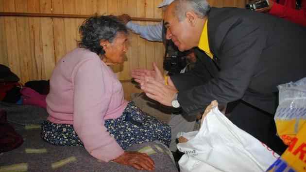 118 Jahre alte Frau bekommt endlich Pension (Bild: https://twitter.com/Apumiguel)