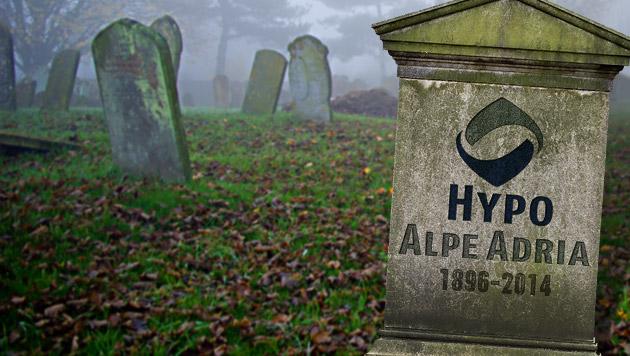 1896-2014: Die Hypo ist ab sofort keine Bank mehr (Bild: thinkstockphotos.de, krone.at-Grafik)