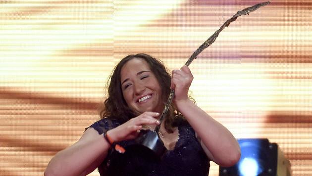 Claudia Lösch wurde Behinderten-Sportlerin des Jahres (Bild: APA/HERBERT NEUBAUER)