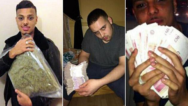 Gangmitglieder durch Drogen-Fotos überführt (Bild: Metropolitan Police)