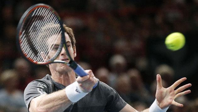 Wien-Champ Murray siegt und ist fix bei ATP-Finals (Bild: AP)