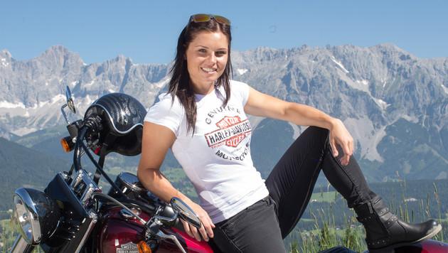 """Anna Fenninger ist Paul Scharner vom Skisport"" (Bild: APA/EXPA/JOHANN GRODER)"