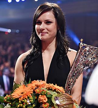 Anna Fenninger, Sportlerin des Jahres (Bild: APA/Herbert Neubauer)