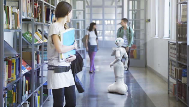 Japanischer Roboter lernt für Uni-Aufnahmeprüfung (Bild: aldebaran.com)