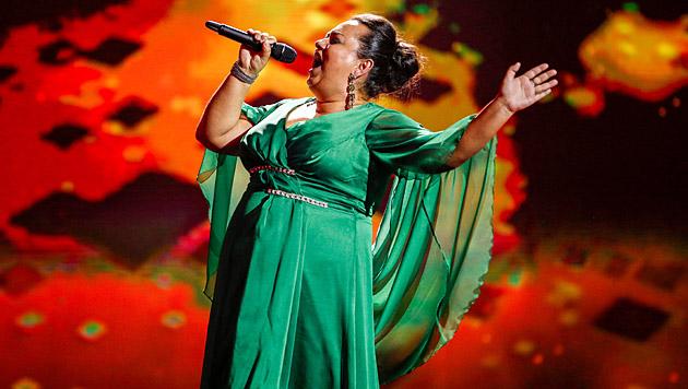"""Ivana Cibulova schmetterte Beyonces Hit """"Listen"""". (Bild: ORF/Milenko Badzic)"""