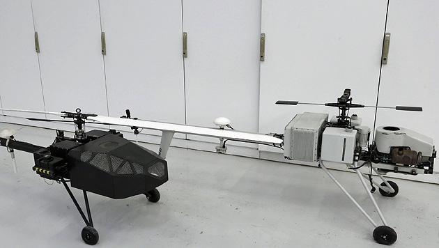 Die Hightech-Apparate können sich bis zu zehn Stunden in der Luft halten. (Bild: Zwefo)
