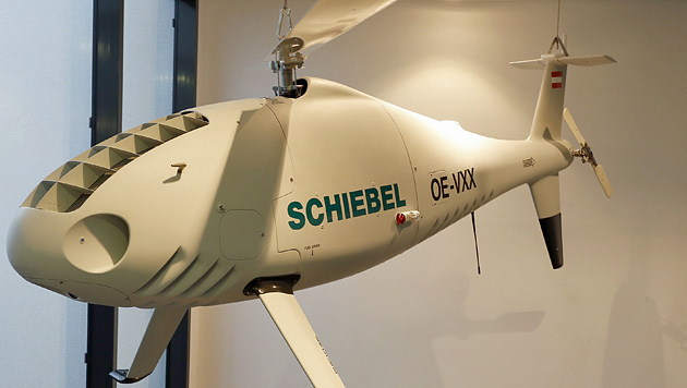 Schiebel-Drohnen wurden unter anderem an OSZE verkauft. (Bild: Zwefo)
