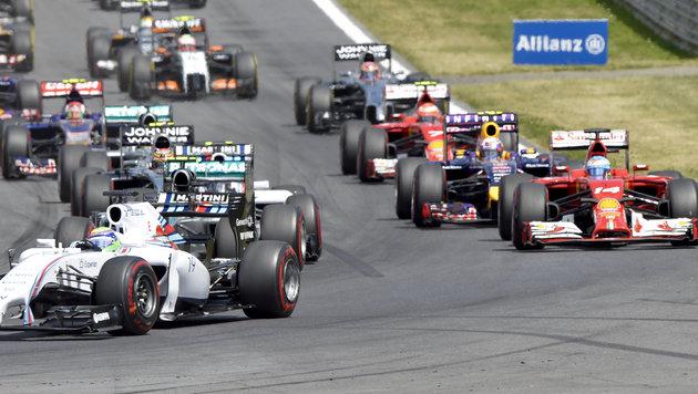 Neue Formel-1-Regeln beim Grand Prix der USA! (Bild: APA/HERBERT NEUBAUER)