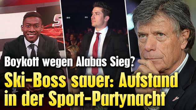 Sportlerwahl: Aufstand in der Partynacht (Bild: Gerhard Gradwohl, APA/BARBARA GINDL)