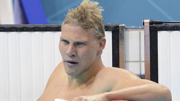 Dinko Jukic verpasst Kurzbahn-WM-Limit in Serbien (Bild: APA/HELMUT FOHRINGER)
