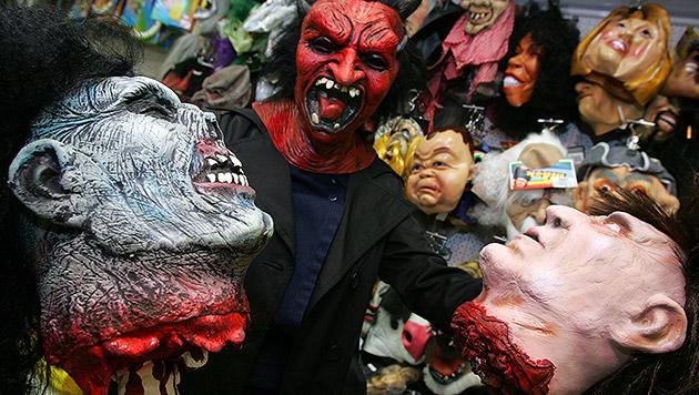 Kriminelle trieben in Halloween-Nacht ihr Unwesen (Bild: APA/ROLAND SCHLAGER)