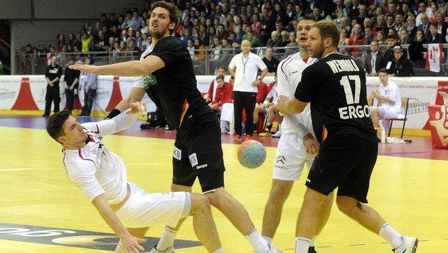 6.000 Fans sahen Handball-Pleite gegen Deutschland (Bild: APA/HERBERT PFARRHOFER)