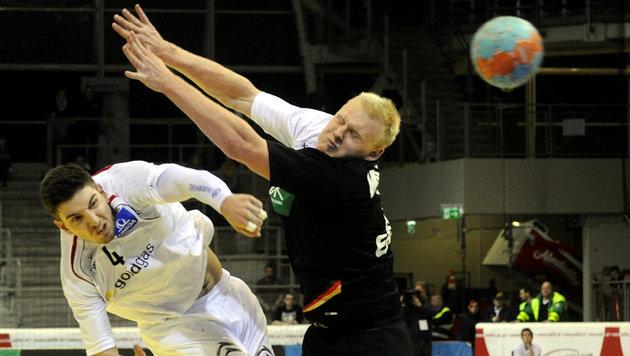 6.000 Fans sahen Handball-Pleite gegen Deutschland (Bild: APA/EPA/HERBERT PFARRHOFER)