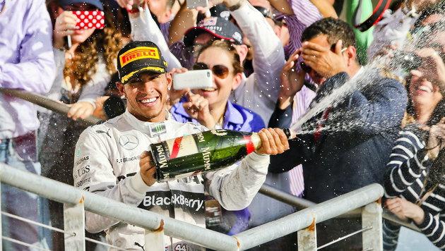 """Hamilton auf Titelkurs, Rosberg """"mega-enttäuscht"""" (Bild: APA/EPA/SRDJAN SUKI)"""