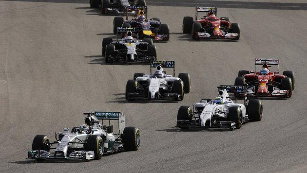"Hamilton auf Titelkurs, Rosberg ""mega-enttäuscht"" (Bild: AP)"