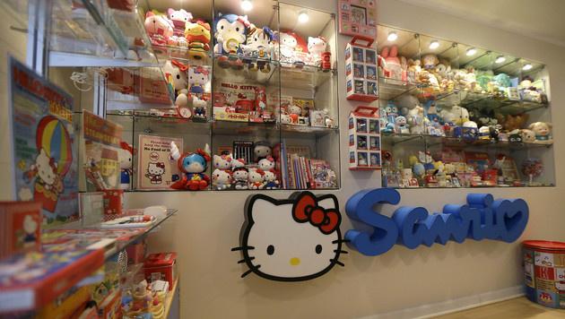 Hello Kitty gehört zu den beliebtesten Sammlerstücken. (Bild: AP)
