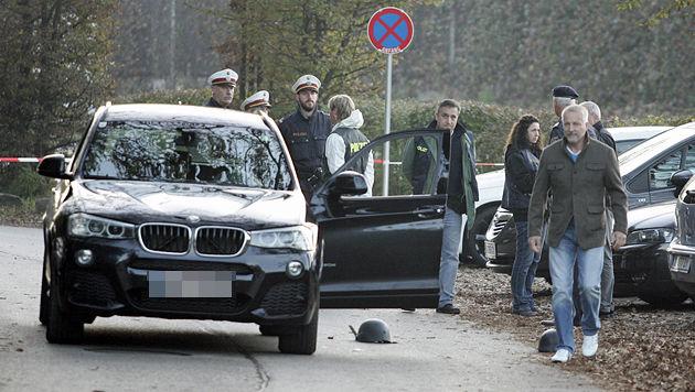 In diesem Auto wurde die Leiche entdeckt. (Bild: Klaus Kreuzer)