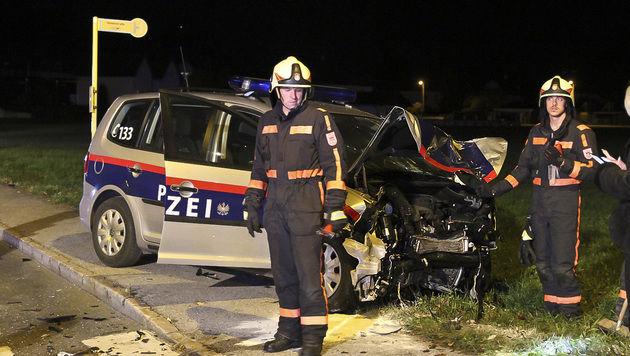 Zu dem Unfall kam es auf einer Kreuzung. (Bild: MARKUS TSCHEPP)
