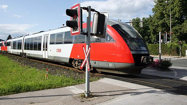 Vor Warnsignal erschrocken - mit Zug kollidiert (Bild: Klaus Kreuzer (Symbolbild))