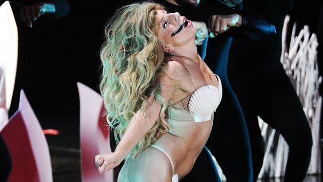 Lady Gaga begeistert in der Wiener Stadthalle ihre Fans. (Bild: AP)