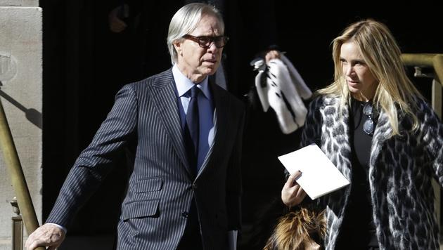 Designer Tommy Hilfiger mit Ehefrau Susie (Bild: AP)