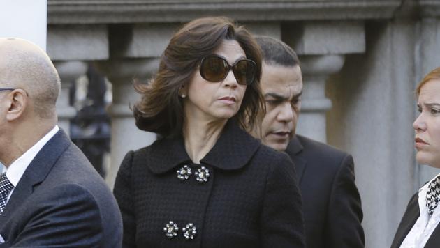 Margarita Cedeno de Fernandez, die Vizepräsidentin der Dominikanischen Republik (Bild: AP)