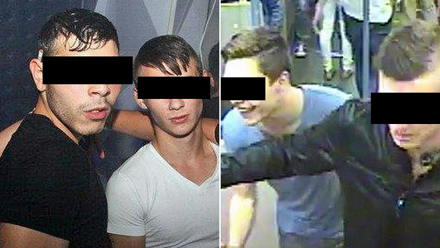 Die brutalen U-Bahn-Schläger wurden ausgeforscht, ein 17-Jähriger fasste zwei Jahre Haft aus. (Bild: Polizei)