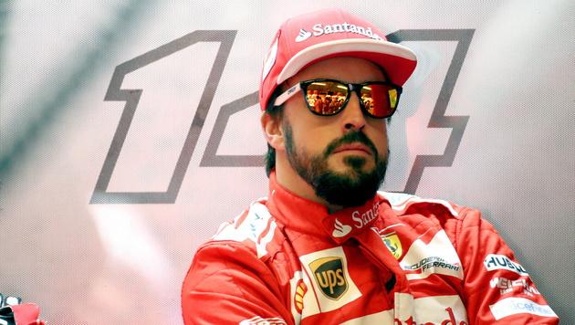 Fernando Alonso wechselt zu McLaren (Bild: APA/EPA/SRDJAN SUKI)