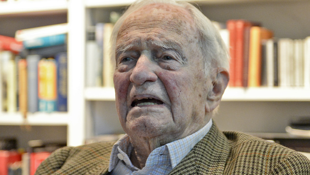 Heinrich Treichl im 102. Lebensjahr gestorben (Bild: APA/HERBERT NEUBAUER)