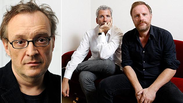 Josef Hader und Stermann und Grissemann sind gut im Geschäft. (Bild: APA/HERBERT PFARRHOFER, APA/GEORG HOCHMUTH)