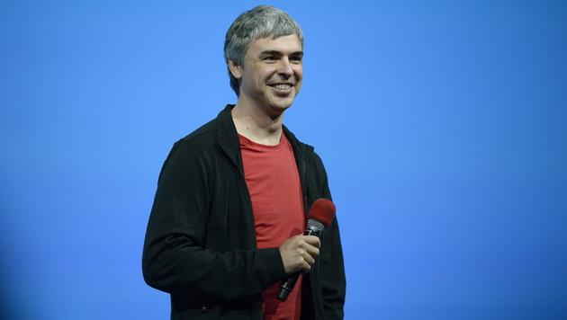 Google-Mitbegründer Larry Page (Bild: JOHN G. MABANGLO/EPA/picturedesk.com)
