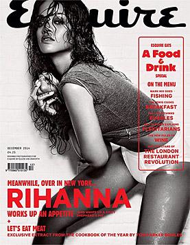 "Am aktuellen ""Esquire""-Magazin ist Rihanna am Cover. (Bild: Esquire)"