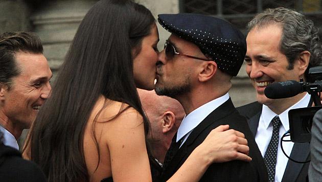 Eros Ramazzotti und seine Ehefrau Marica erwarten wieder Nachwuchs. (Bild: MATTEO BAZZI/EPA/picturedesk.com)