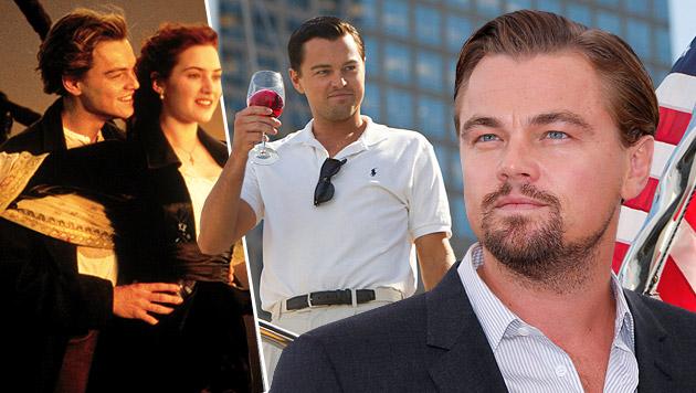Hollywoods Multitalent Leonardo DiCaprio wird 40 (Bild: AFP, EPA, AP)