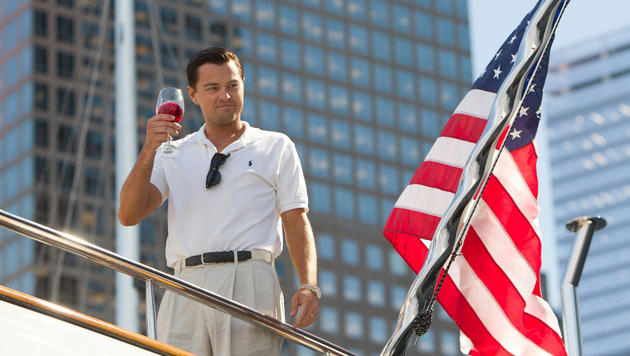"Leonardo DiCaprio in ""The Wolf of Wall Street"" (Bild: Mary Cybulski)"