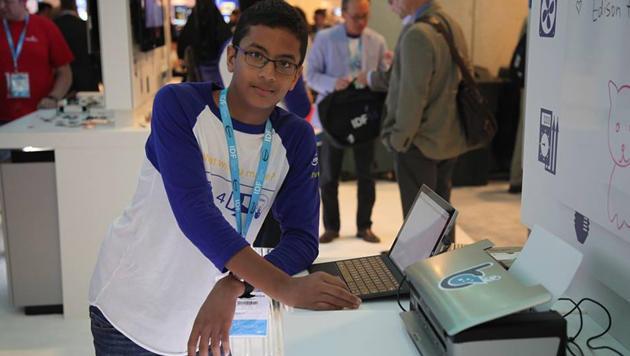 Intel investiert in Start-up eines 13-Jährigen (Bild: facebook.com/BraigoPrinter)