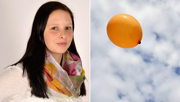 Die 16-jährige Anna-Lena aus Niederösterreich schickte einen Luftballon auf Reisen. (Bild: Privat, thinkstockphotos.de (Symbolbild))
