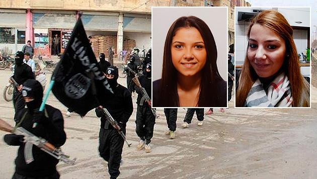 Zogen Violetta (l.) und Viktoria (r.) in den Dschihad? (Bild: Zwefo, AP)