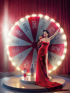 Eva Green ist der Star des Campari-Kalender 2015. (Bild: Campari/Julia Fullerton-Batten)