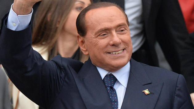 Berlusconi wegen Herzproblemen im Spital (Bild: APA/EPA/ETTORE FERRARI)