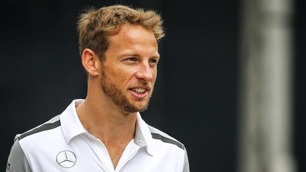 Jenson Button deutet Abschied aus der Formel 1 an (Bild: APA/EPA/DIEGO AZUBEL)