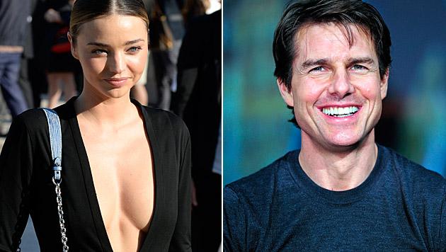 Wird Miranda Kerr etwa Tom Cruises Ehefrau Nummer vier? (Bild: APA/EPA/CAROLINE BLUMBERG, APA/EPA/FRANCK ROBICHON)
