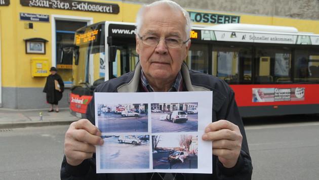 Thomas Pöllmann hat schon drei tödliche Unfälle an der Kreuzung miterlebt. (Bild: ANDI SCHIEL)