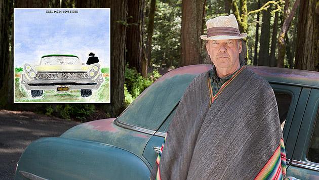 Neil Young und das wiedergefundene Lebensglück (Bild: Warner Music)