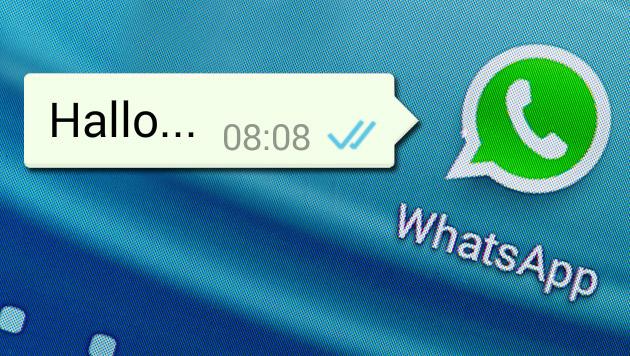 WhatsApp-Überwachung: Ministerium beschwichtigt (Bild: APA/dpa/Armin Weigel)