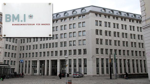 Bombendrohung gegen Innenministerium (Bild: Andi Schiel)