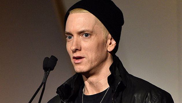 eminem in society Will the real slim shady please stand up many people believe eminem died and got replaced by an impostor.