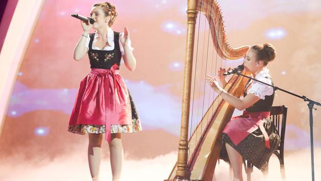 Nora-Marie Baumann (13) und Hanna Maizner (14) (Bild: ORF/Milenko Badzic)