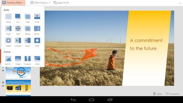 Microsoft macht Office auf Mobilgeräten kostenlos (Bild: Microsoft)